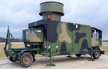Delivery of mobile Tactical Air Navigation System TACAN 2010