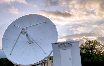 Implementation of the contract for the supply of the Base Station of the Military Satellite Communication System.